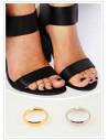 Set doua inele midi simple, pentru mana sau picior