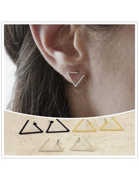 Cercei minimal, triunghiuri mici incomplete, Escaped
