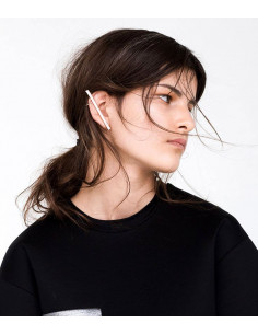 Cercel tip ear cuff, tija lunga pe toata urechea