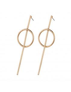 Cercei minimal, inel intersectat cu o tija lunga