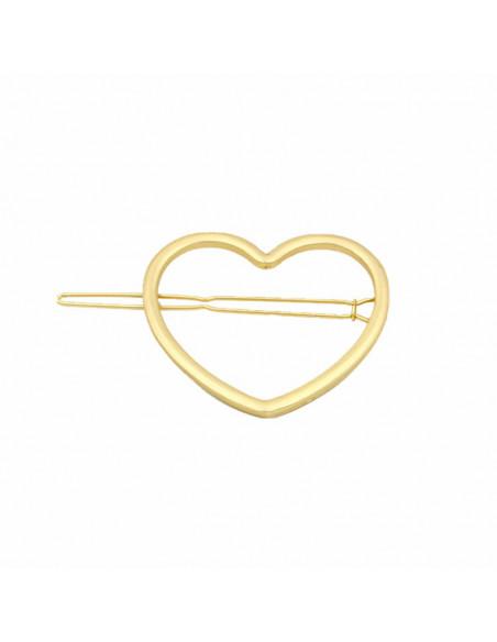 Clama de par aurie in forma de inima
