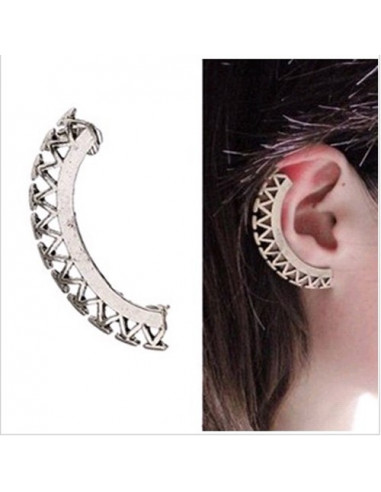 Cercel tip ear cuff, model fantezie...