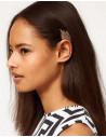 Cercel tip ear cuff, model elf wings colorati, prindere pe ureche