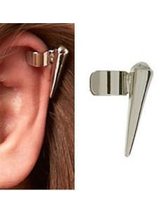 Cercel tip ear cuff, model cu tep mic, prindere pe ureche