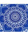 Cearceaf de plaja floare de lotus cu motive indiene mandala