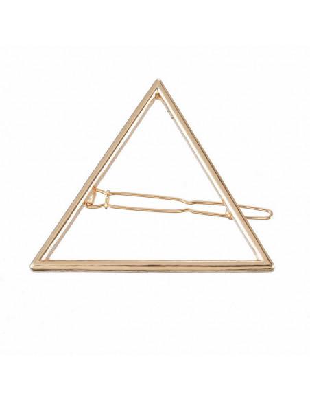 Agrafa pentru par cu triunghi, accesoriu de par model minimal