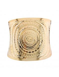 Bratara lata model roman cu striatii in forma de solzi