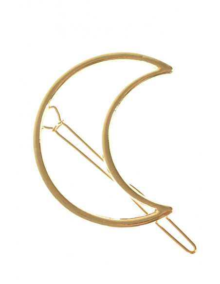 Agrafa pentru par, model simplu in forma de semiluna