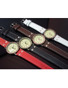 Ceas vintage, model simplu nautic, cadran rotund, ceas vintage curea lata
