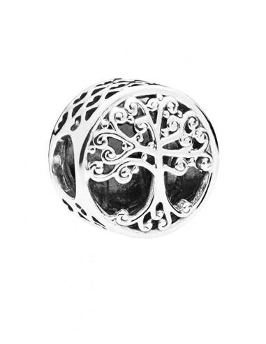 Charm pentru bratara, copac si mesaj Family LOVE