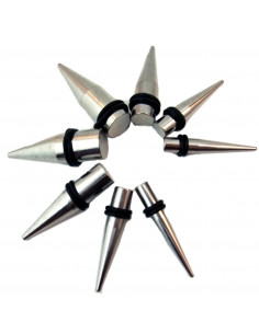 Ear expander conic din otel...