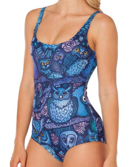 Costum de baie intreg BlackMilk Midnight Owl