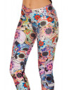 Colanti BlackMilk imprimati si mulati Day of the dead