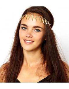 Bentita hippie, bentita boho chic cu aripi aurii Angel Wings