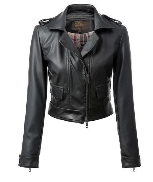 Jacheta biker de dama, din piele ecologica, geaca biker