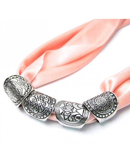 Set 4 inele indiene argintii masive, cu motive traditionale