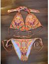 Costum de baie Petite cu imprimeu muticolor boho chic
