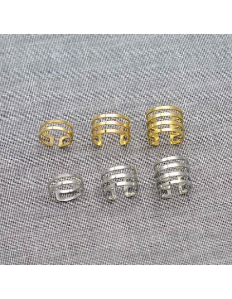 Set 3 inele ajustabile, model cu verigi paralele