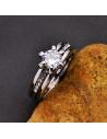 Set verigheta si inel de logodna incorporate