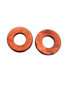 Cercei rotunzi din lemn