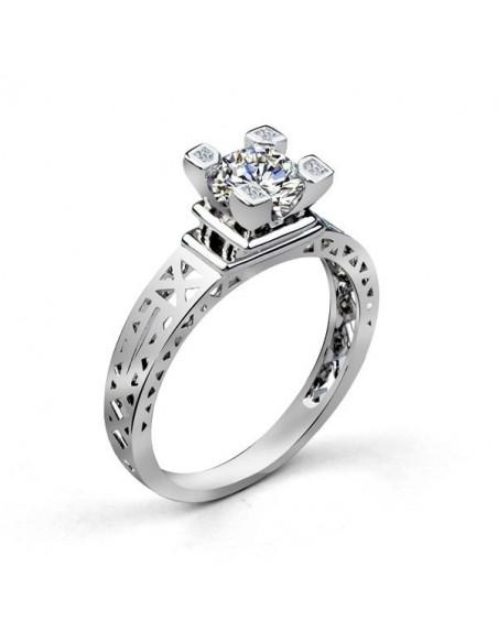 Inel de logodna cu cristale Le Tour Eiffel